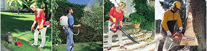 Solo Sprayers Chain saws Brush cutters Leaf blowers